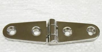 103mm x 27mm STAINLESS STEEL MARINE DOOR STRAP HINGE deck boat yacht